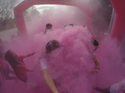 Deeeeeep breath inside this delicious cotton candy. Doctors would condone this, I'm sure.