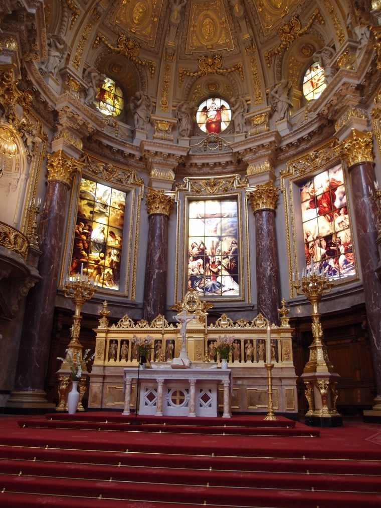 The front part of the Berliner Dom