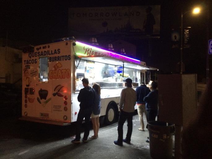 when in LA, taco trucks are a must.