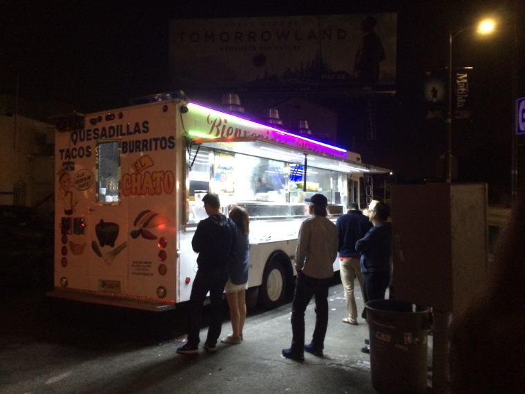 when in LA, taco trucks are a must.