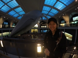 Victoria and the whale