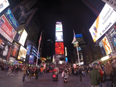 Times Square here