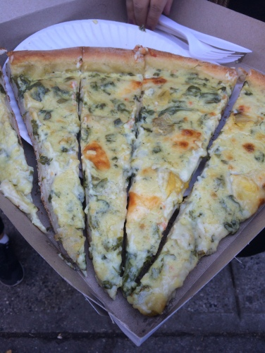 This is 2 slices, cut in half again