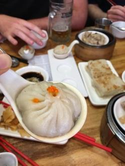 soup dumpling at Ding Dim 1968
