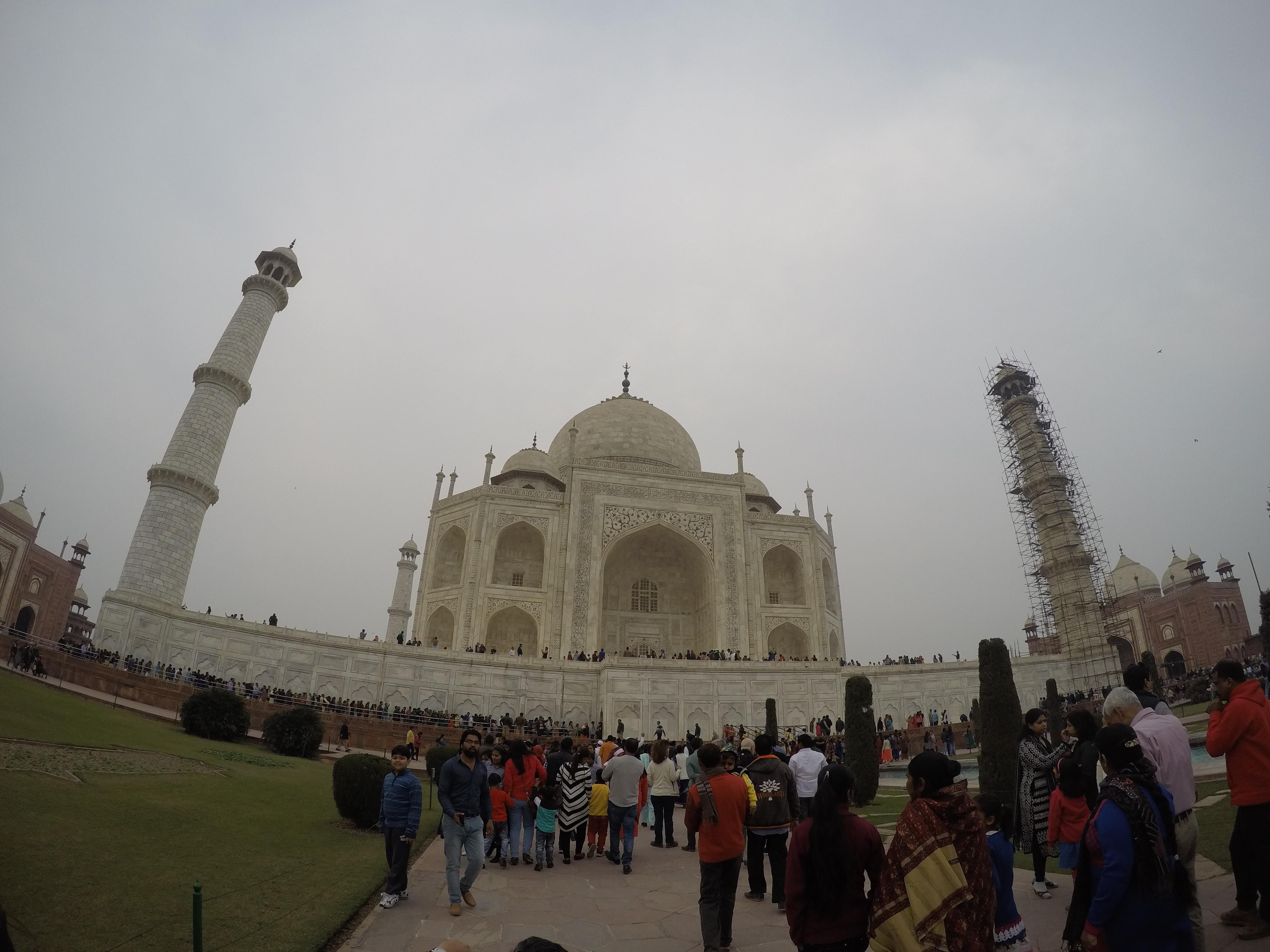 I went to India!