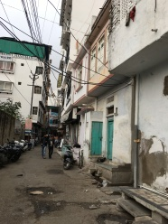 one of the alleyways we walked through