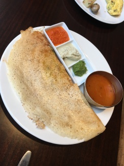 I had masala dosa everywhere I went, it never failed me. A classic.
