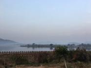 from the hotel grounds in Udaipur